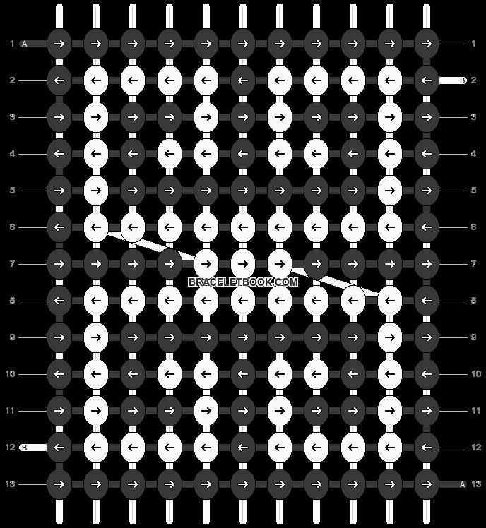 Alpha pattern #93619 pattern