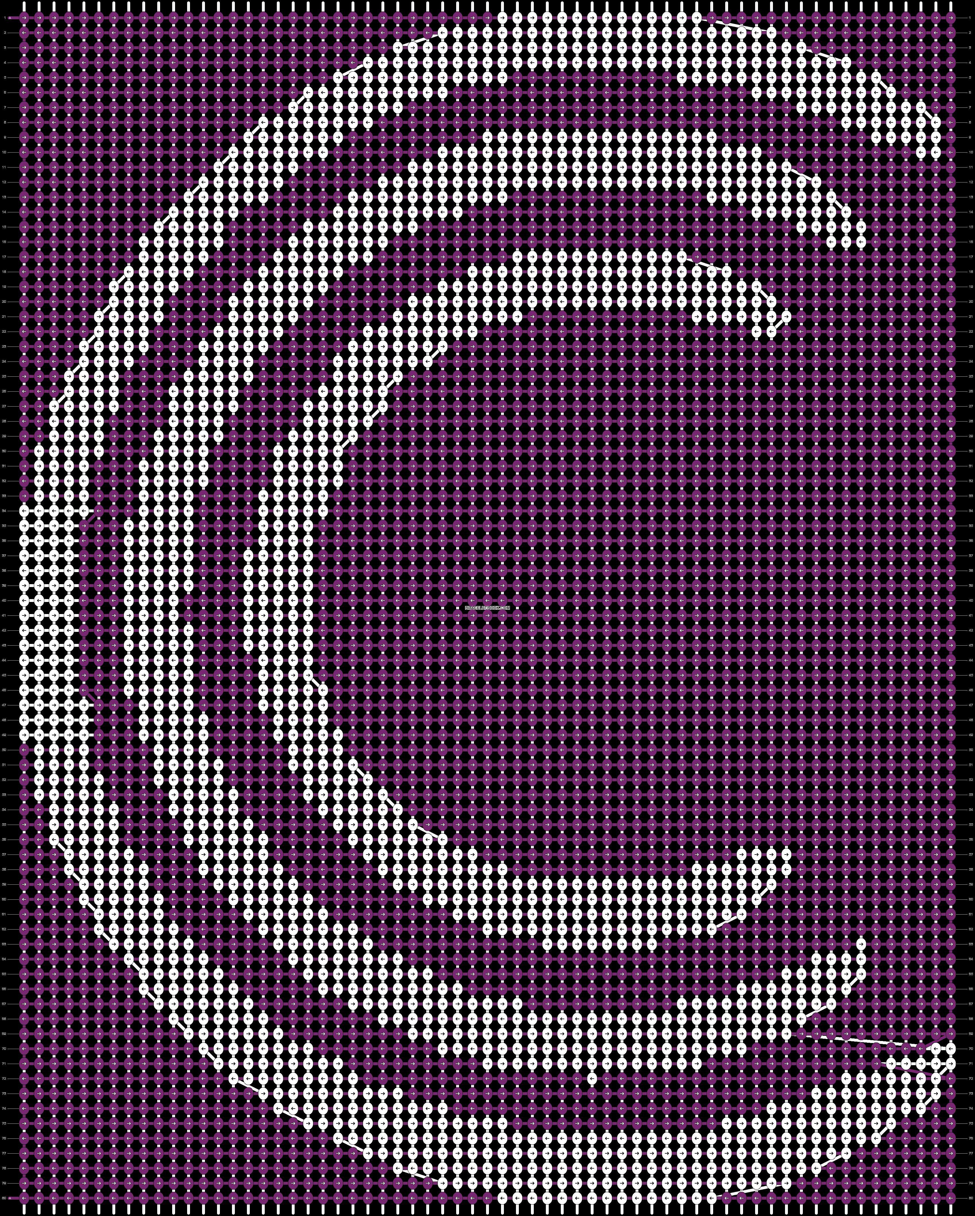 Alpha pattern #93643 pattern