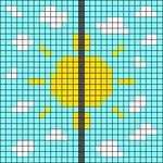 Alpha pattern #93665