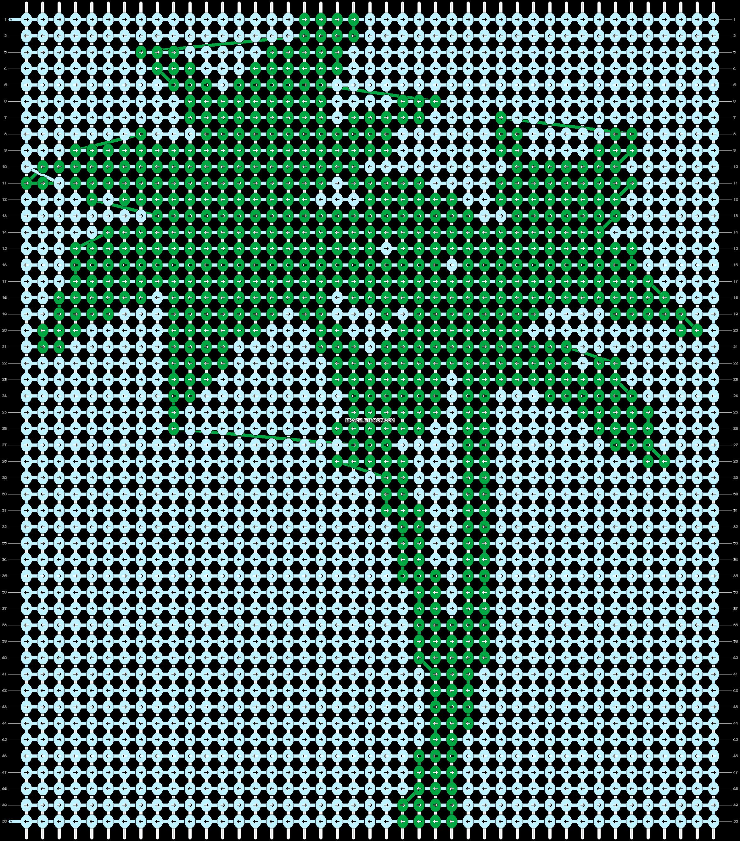 Alpha pattern #93669 pattern