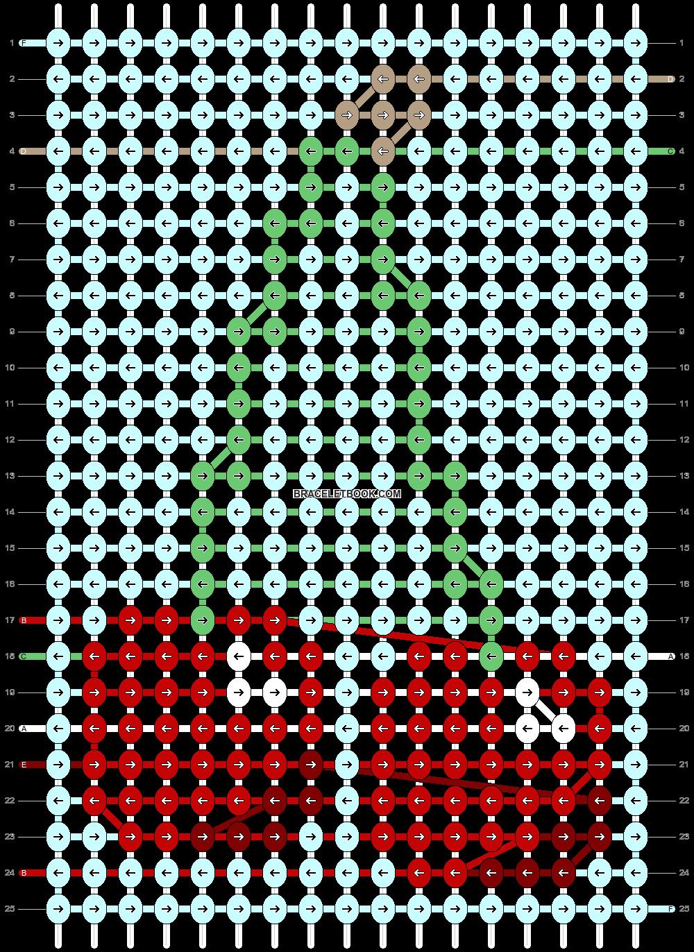 Alpha pattern #93673 pattern