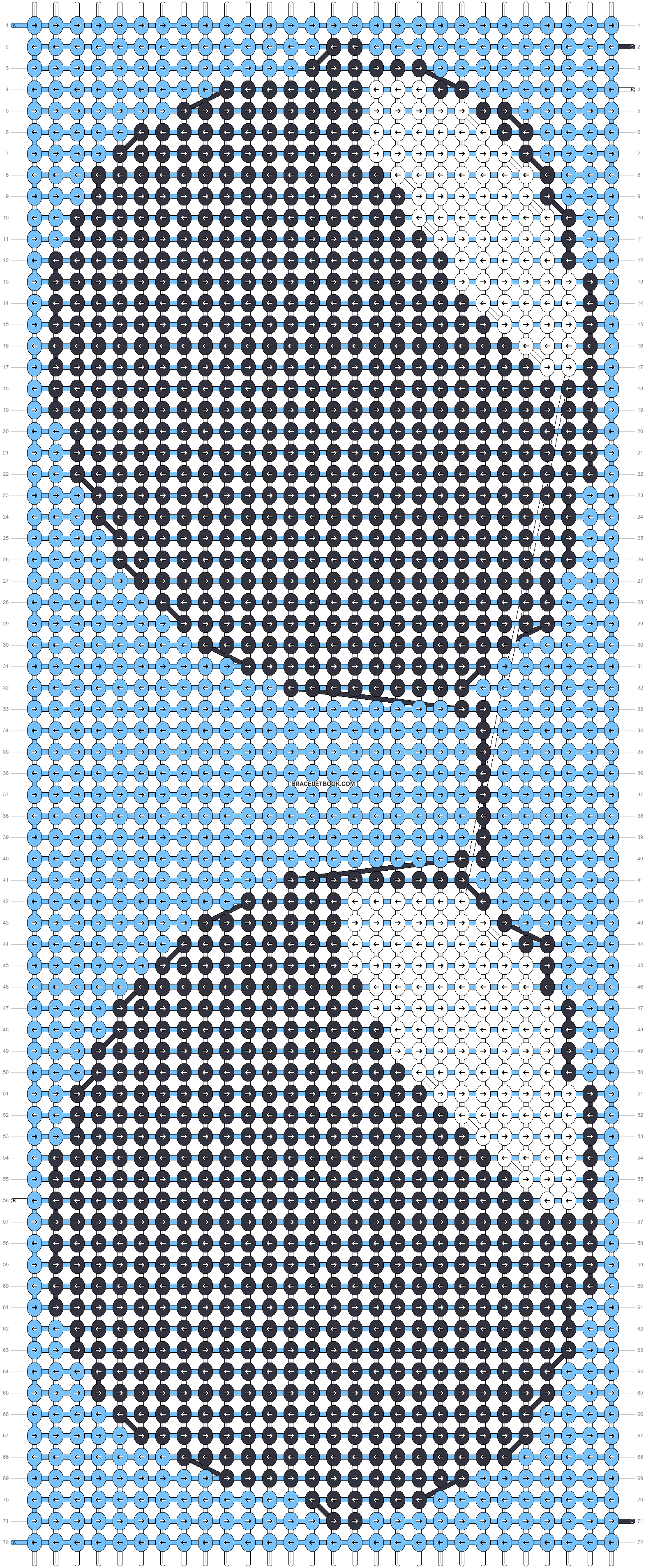 Alpha pattern #93676 pattern