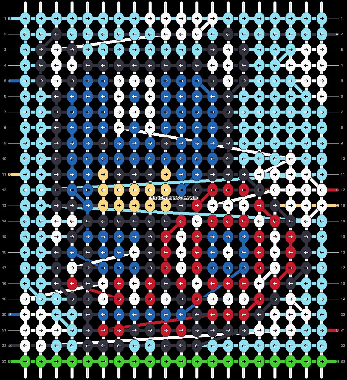 Alpha pattern #93685 pattern
