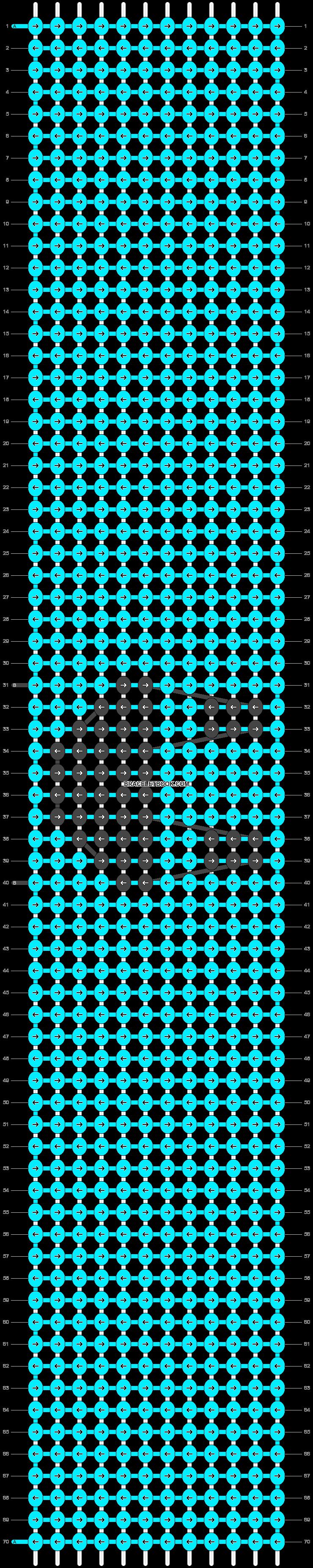 Alpha pattern #93686 pattern