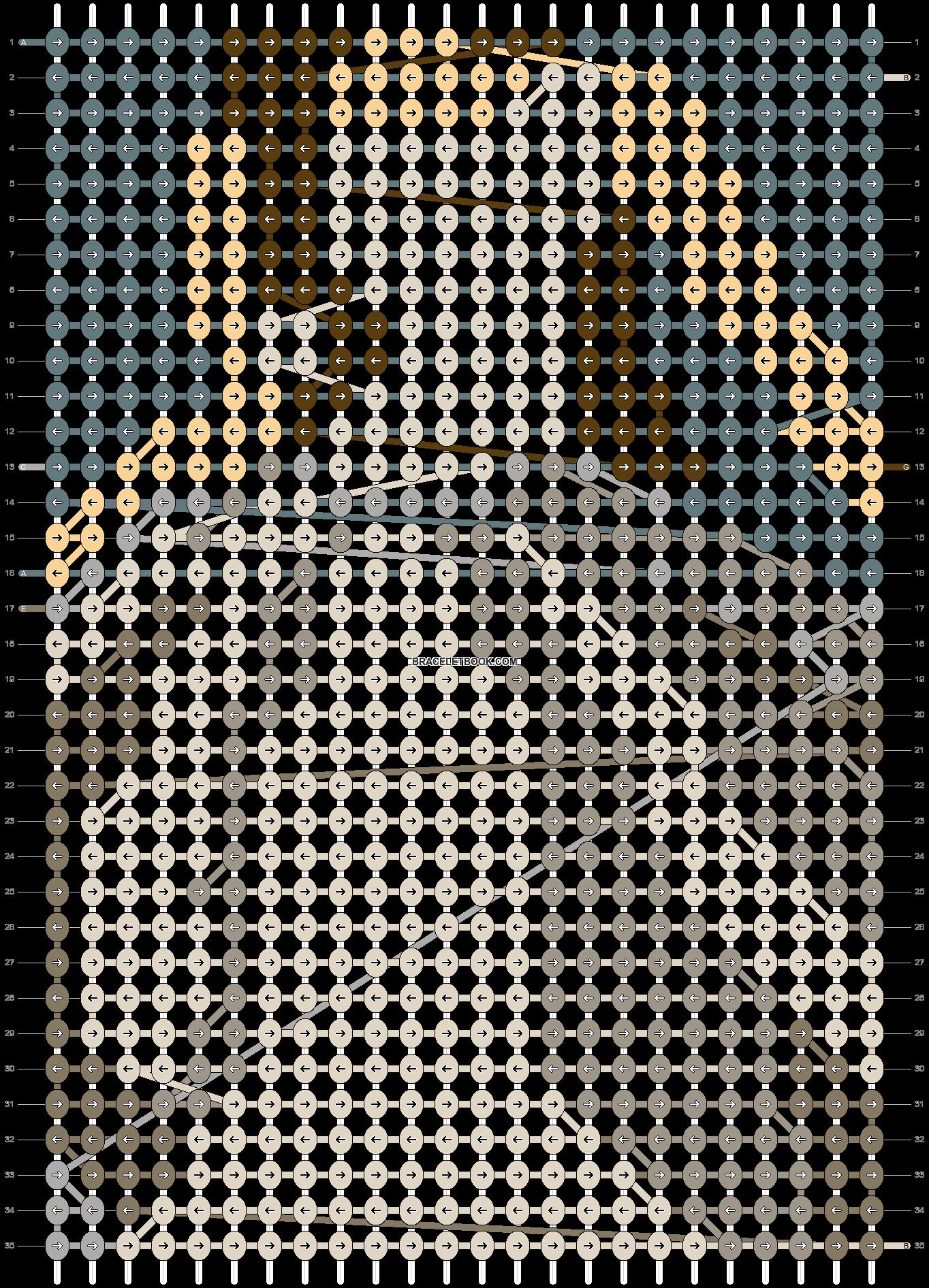 Alpha pattern #93713 pattern