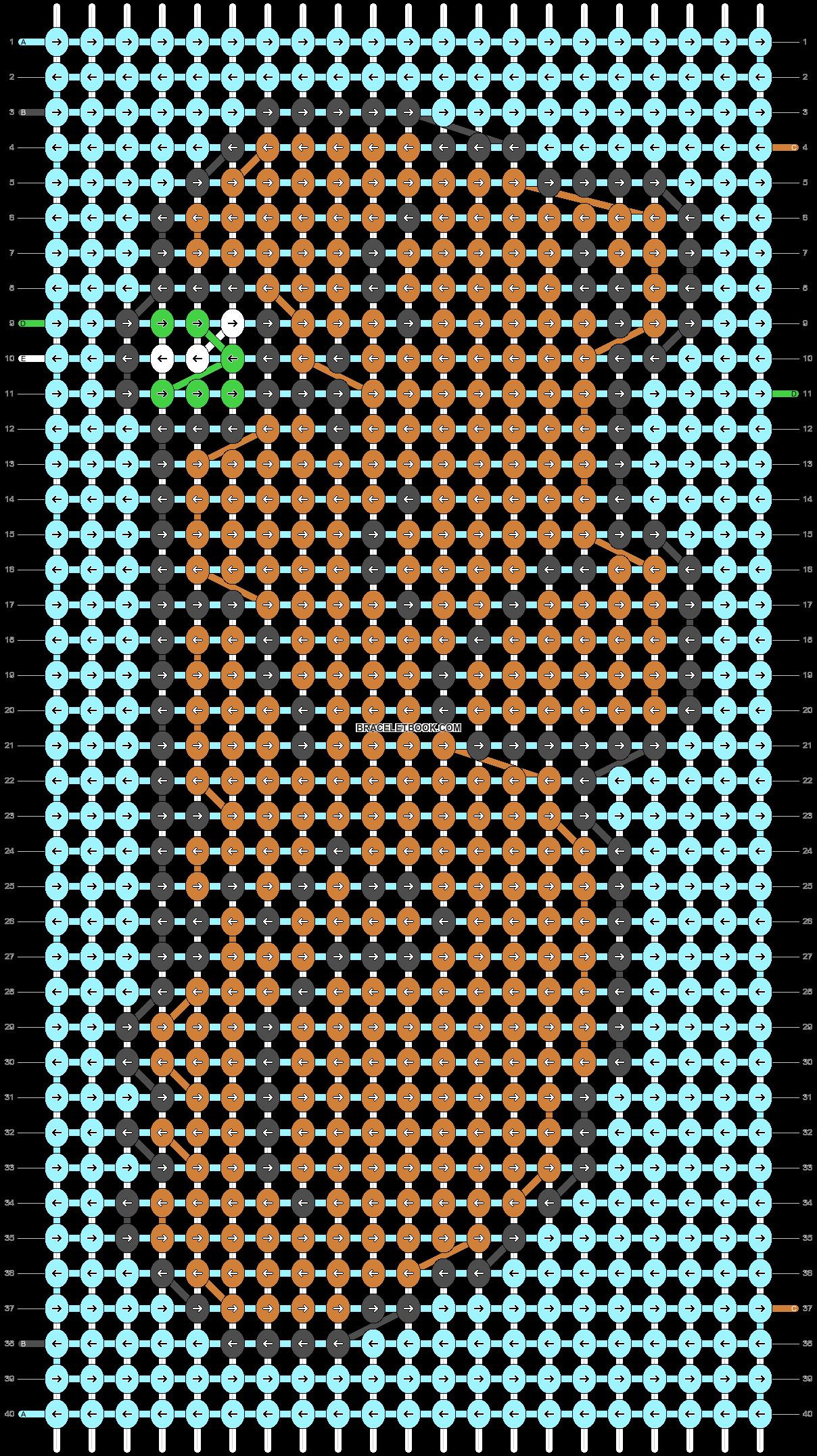 Alpha pattern #93715 pattern