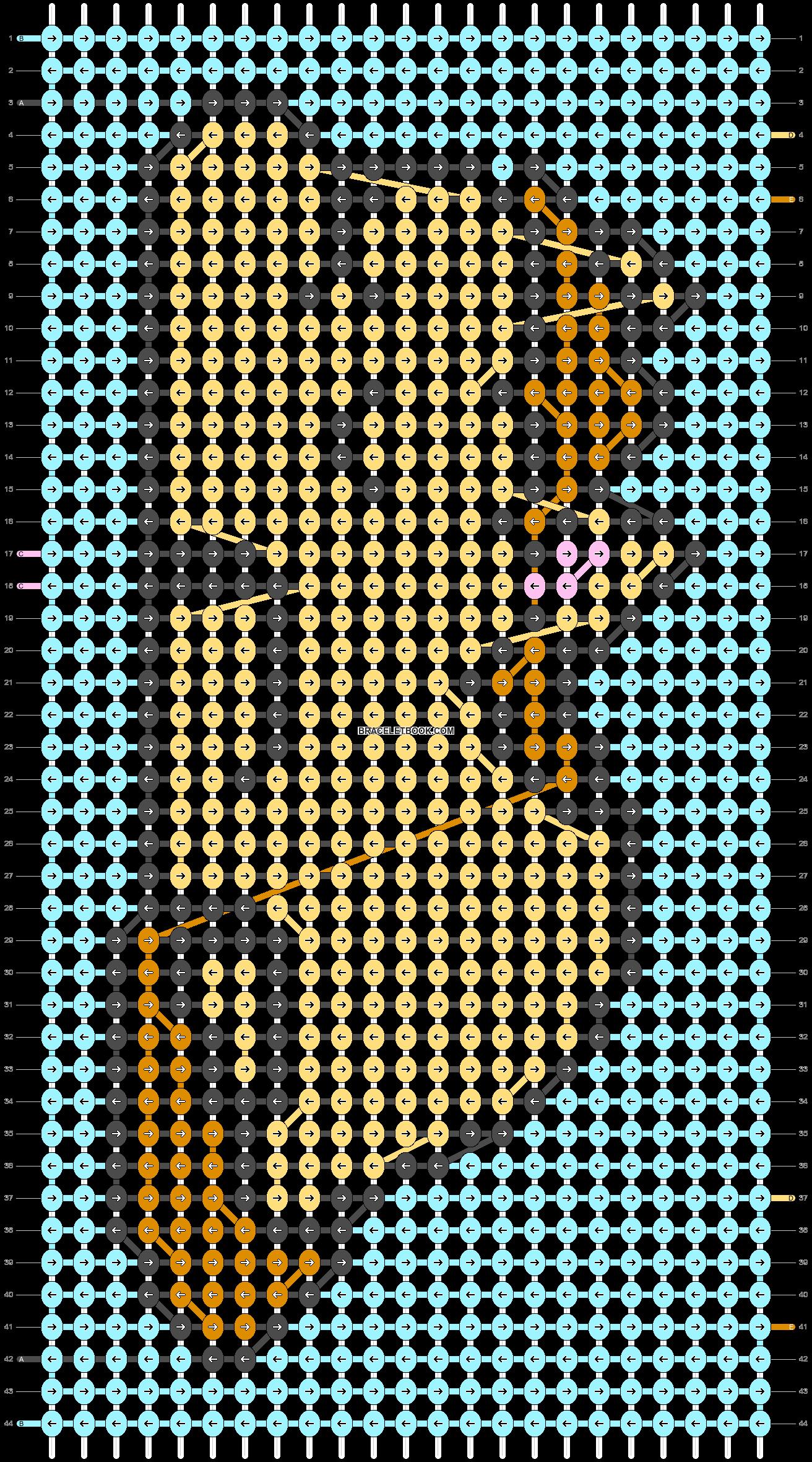 Alpha pattern #93720 pattern