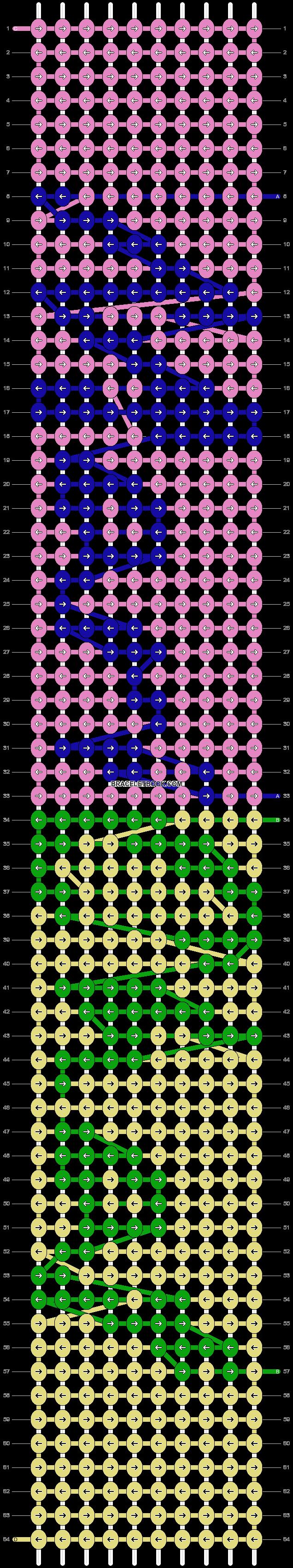 Alpha pattern #93724 pattern