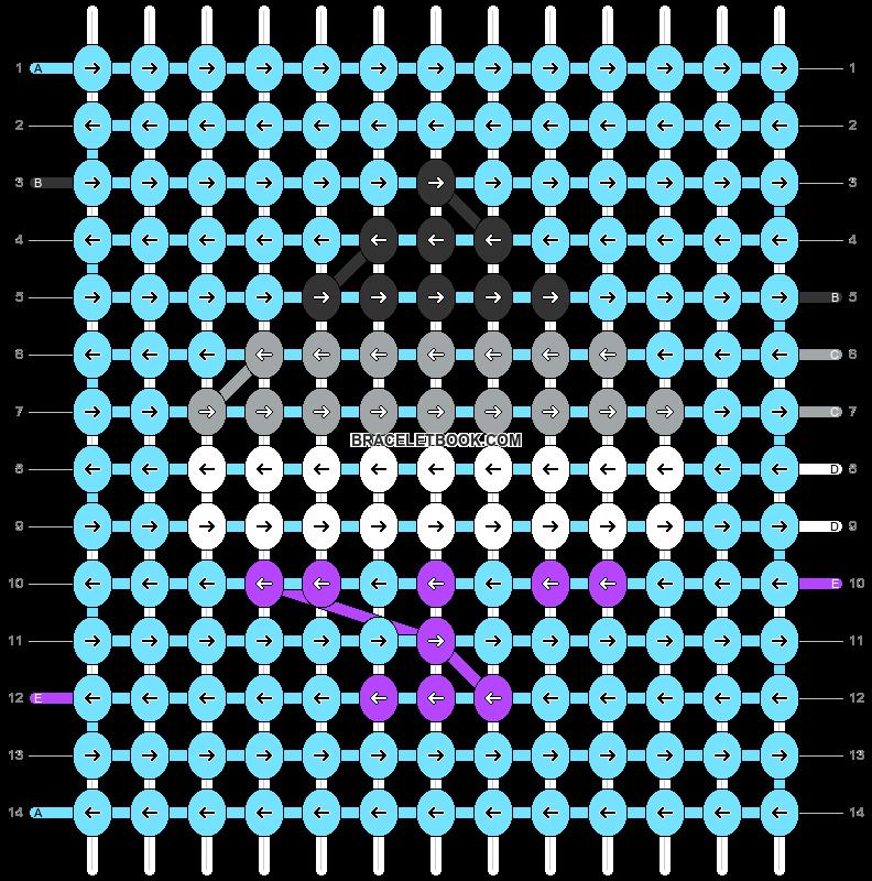 Alpha pattern #93731 pattern