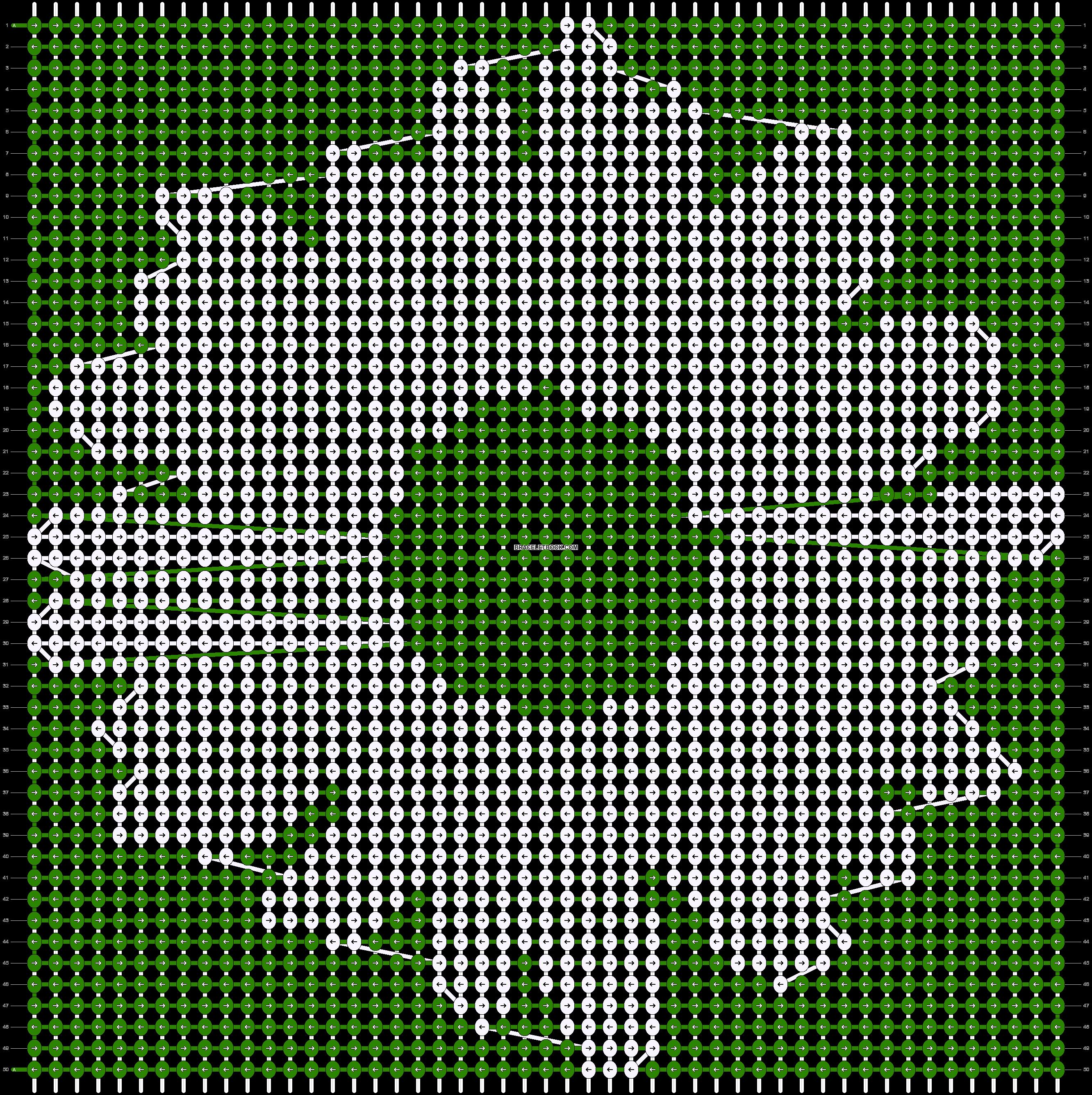 Alpha pattern #93755 pattern