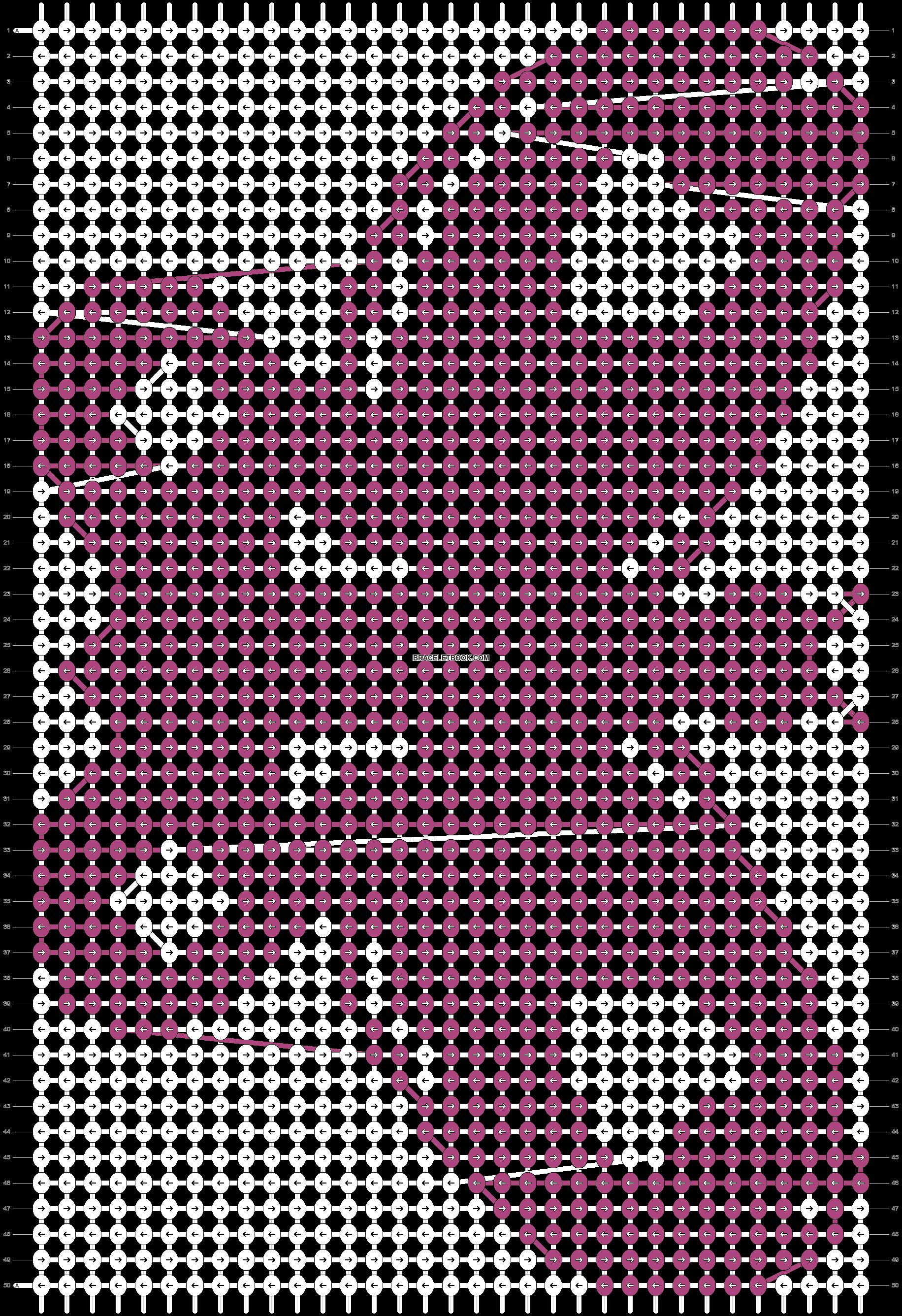 Alpha pattern #93757 pattern