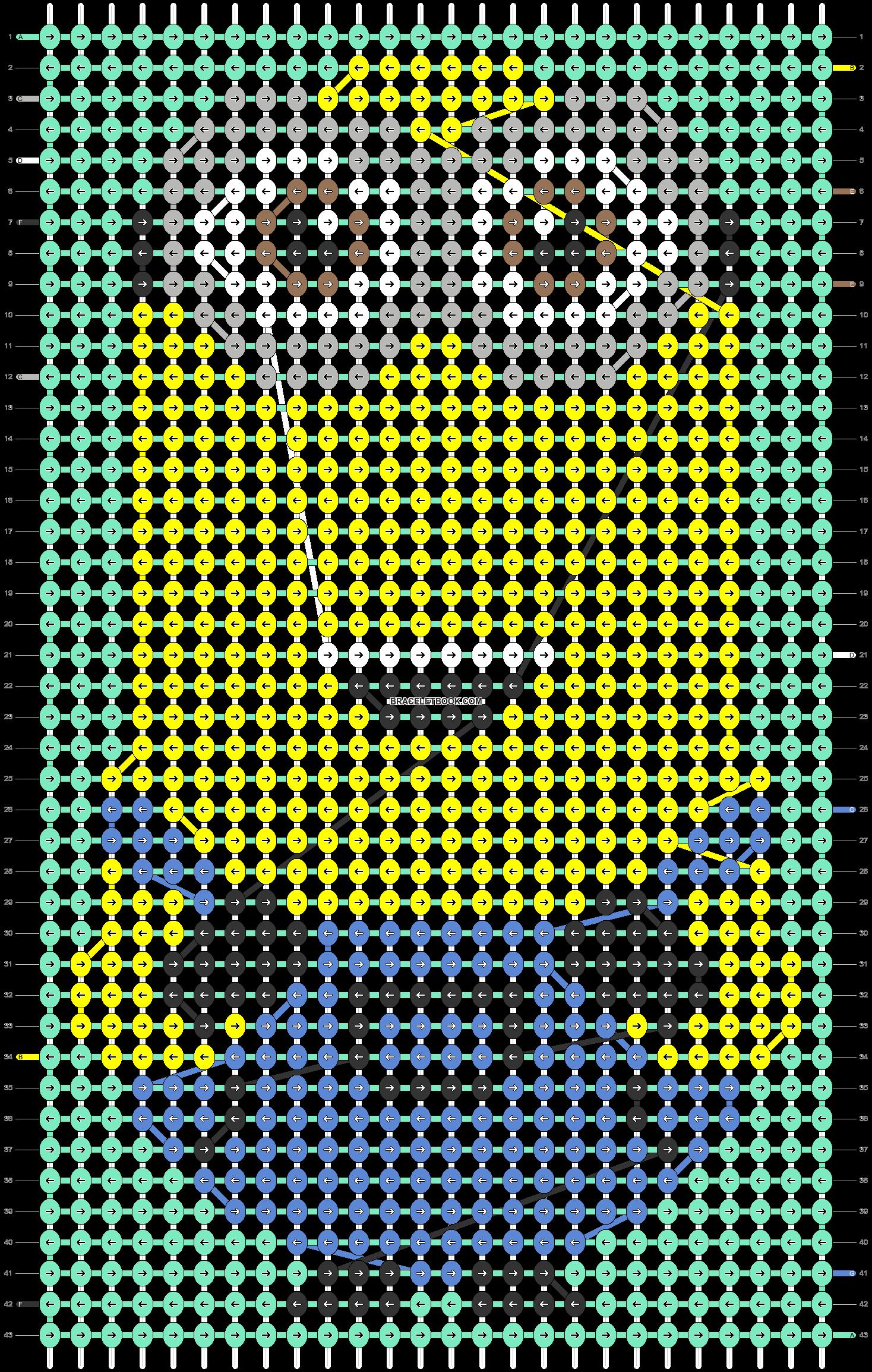 Alpha pattern #93777 pattern