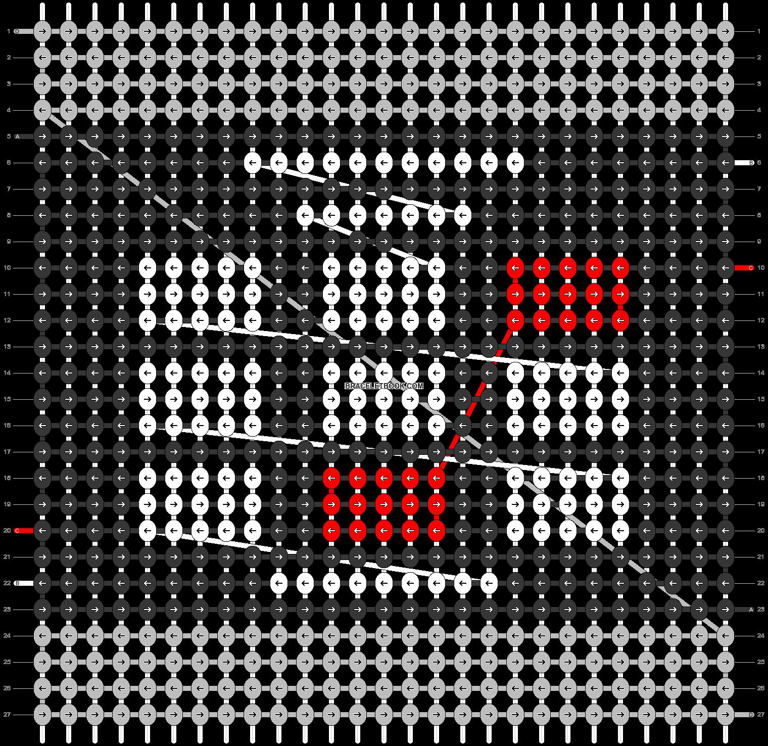 Alpha pattern #93787 pattern