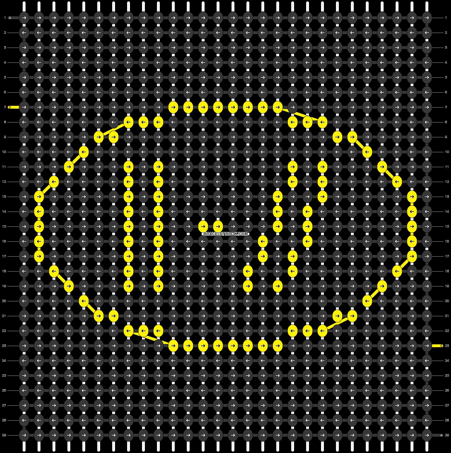 Alpha pattern #93789 pattern