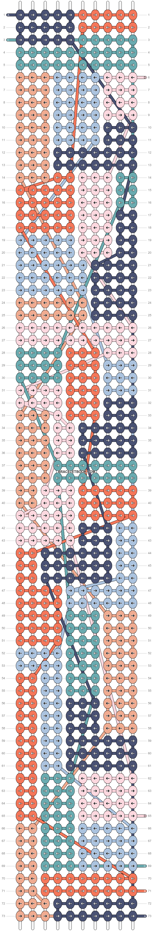Alpha pattern #93790 pattern