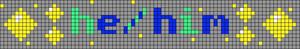 Alpha pattern #93792