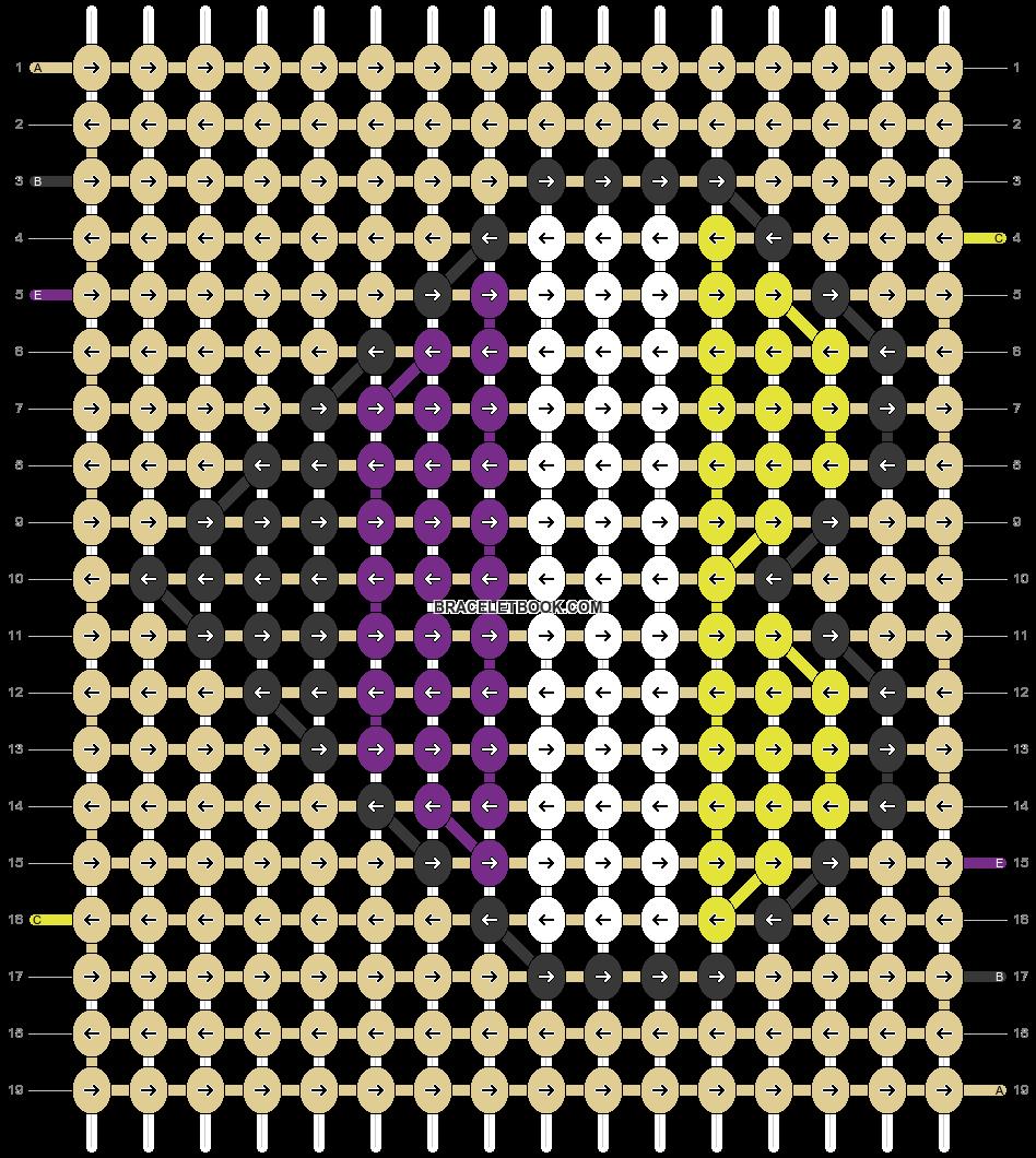Alpha pattern #93795 pattern