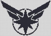 Alpha pattern #93797