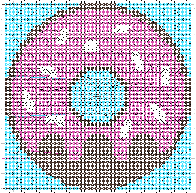 Alpha pattern #93803 pattern