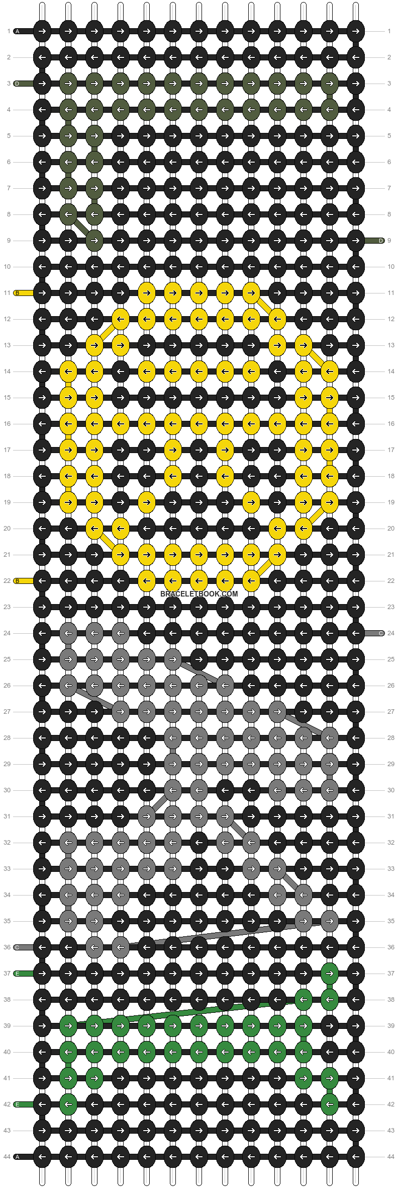 Alpha pattern #93824 pattern