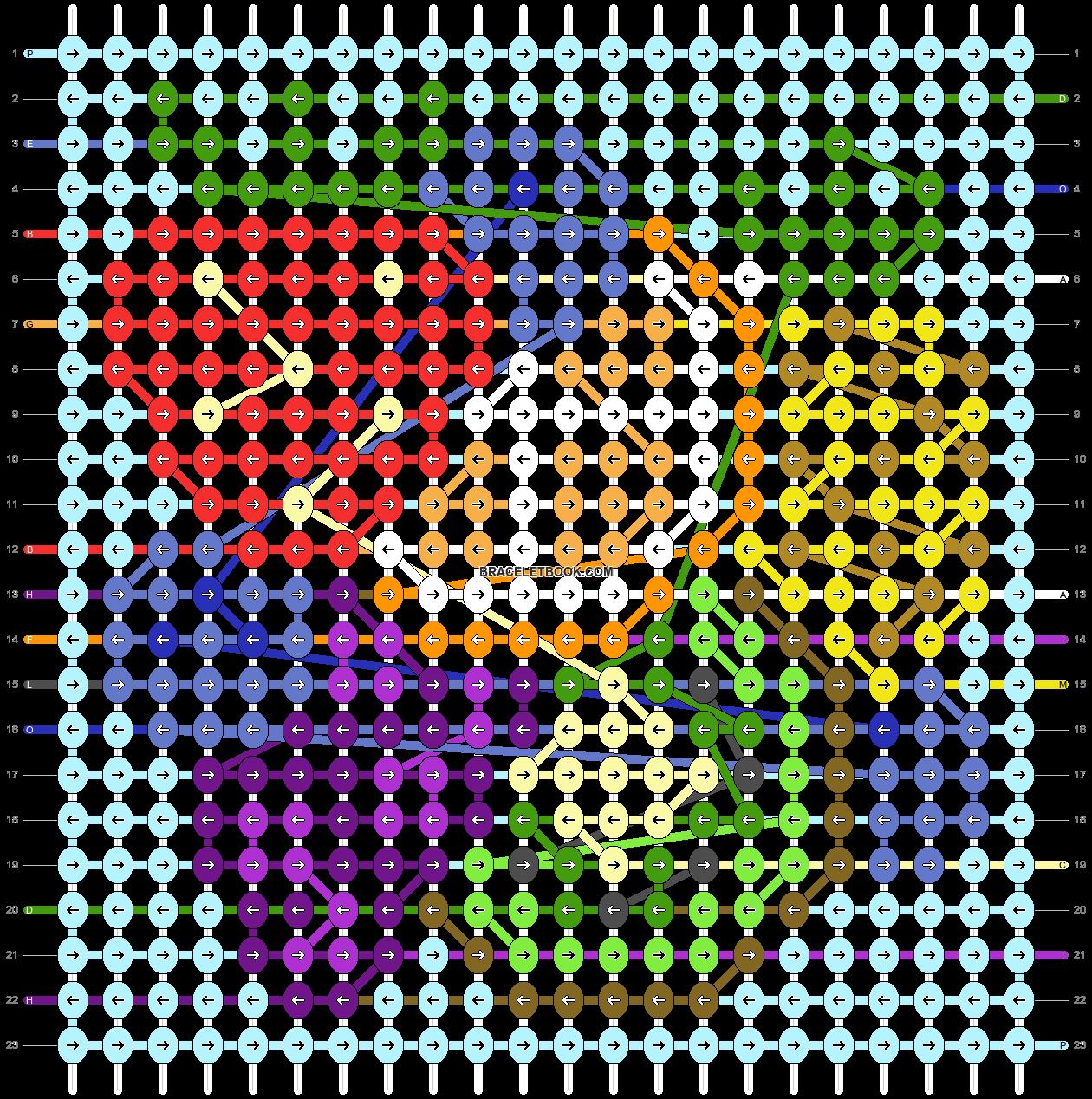 Alpha pattern #93834 pattern