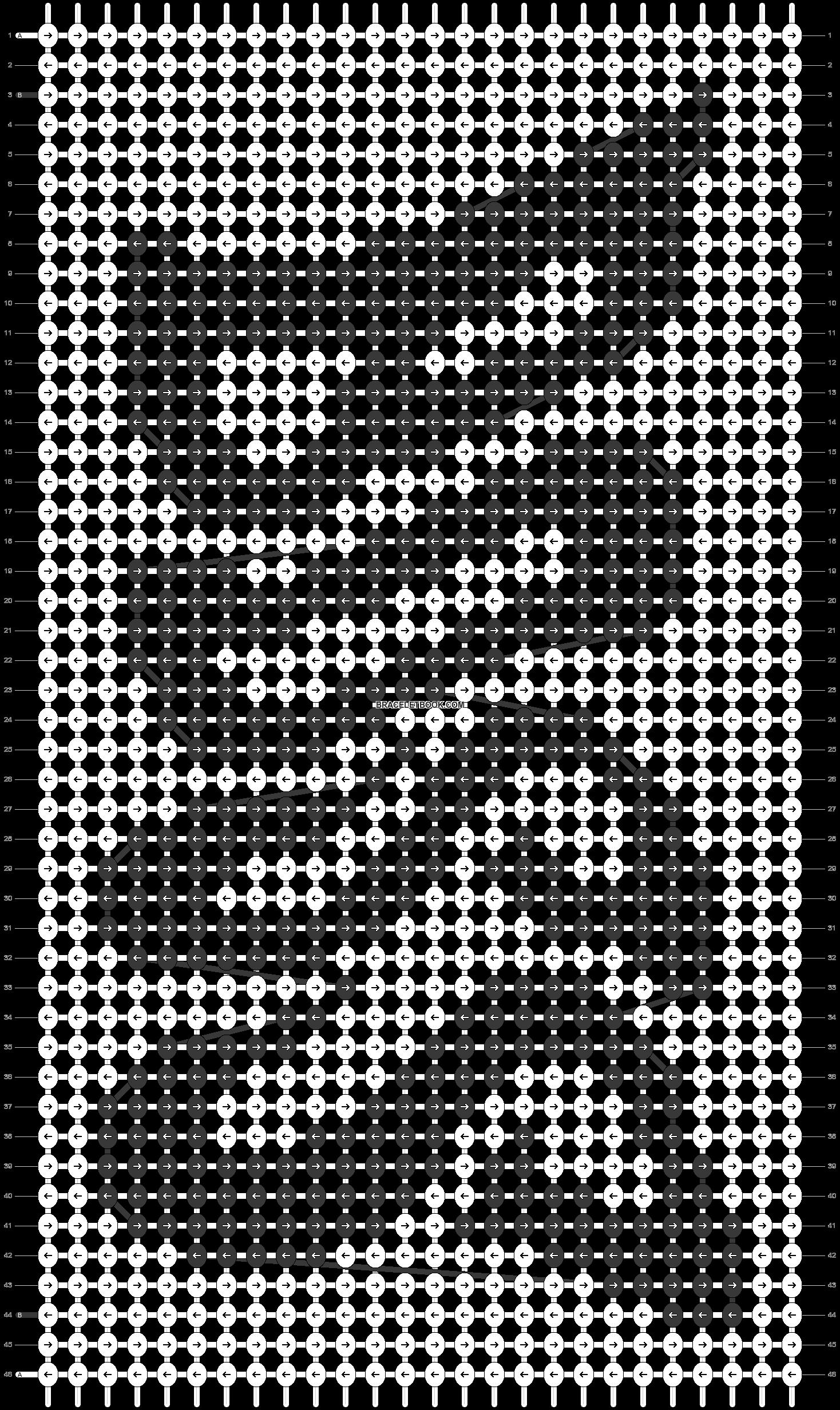 Alpha pattern #93851 pattern
