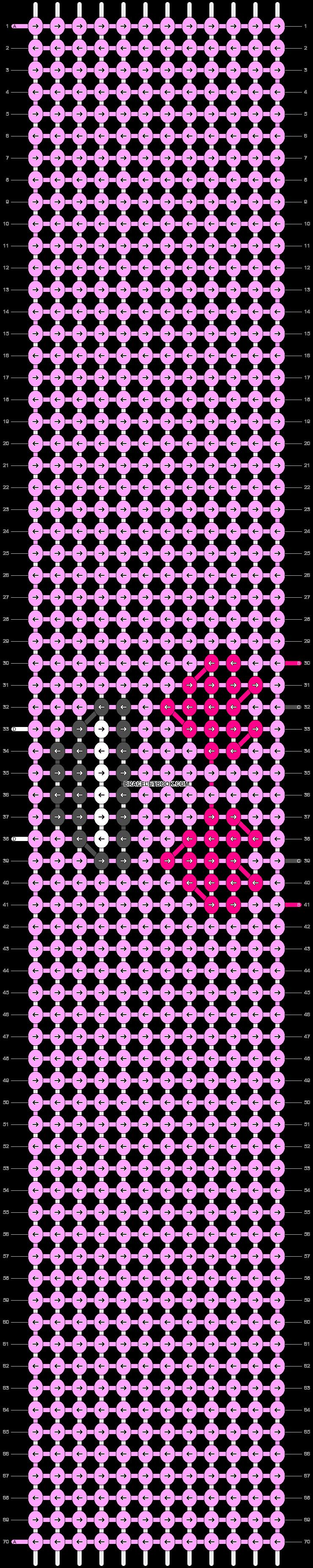 Alpha pattern #93867 pattern