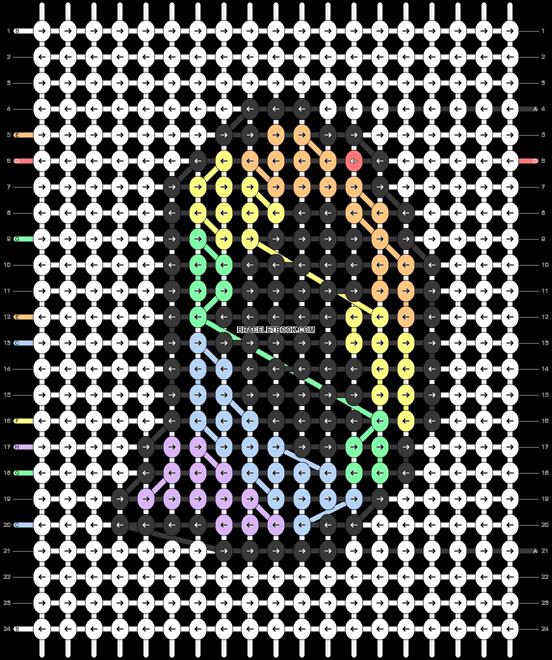 Alpha pattern #93873 pattern