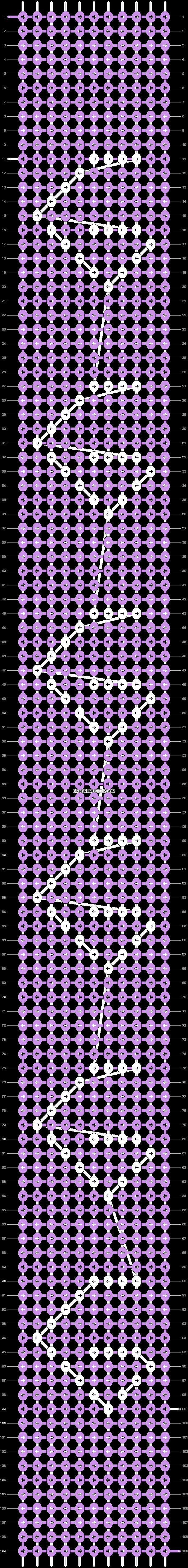 Alpha pattern #93876 pattern