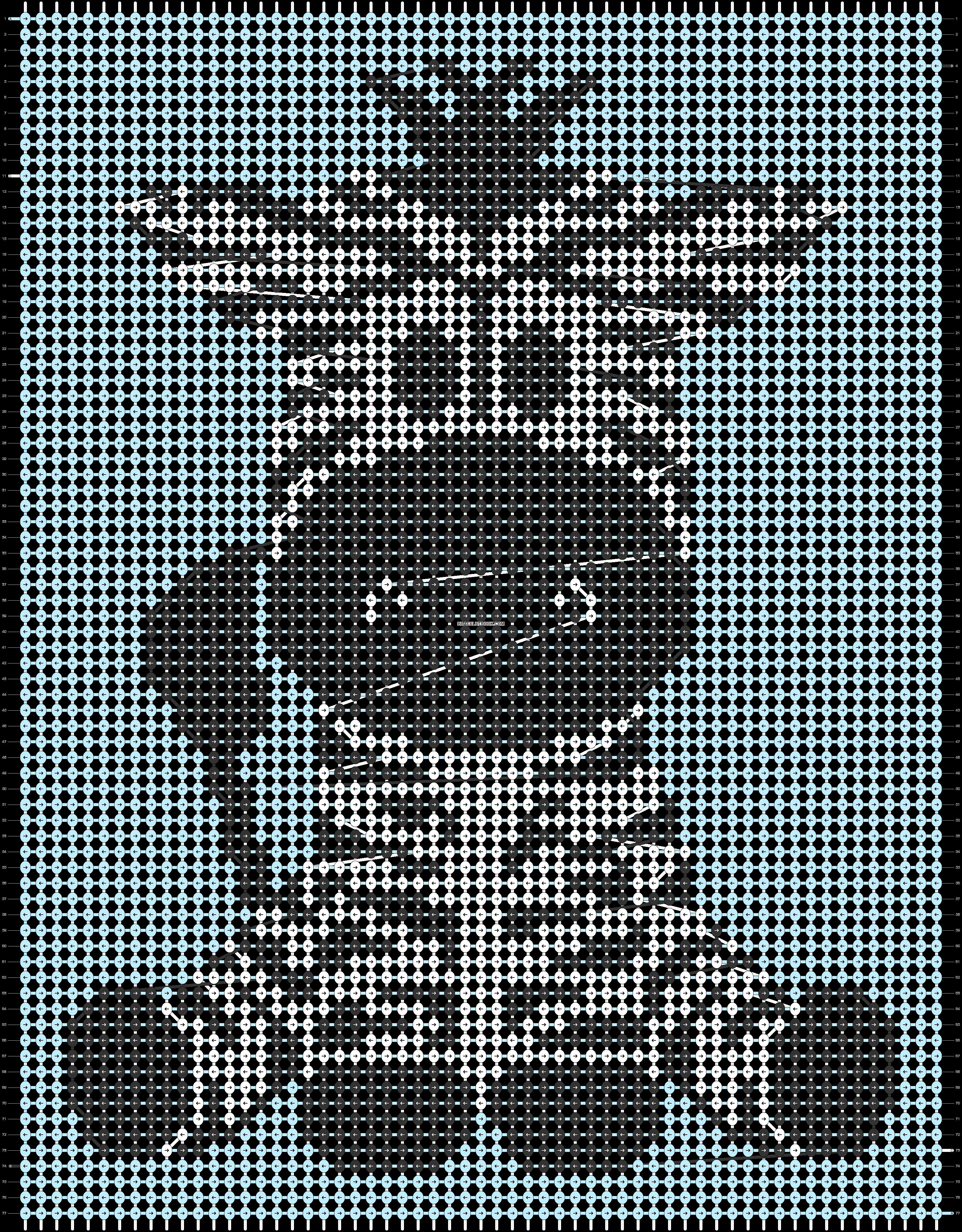Alpha pattern #93892 pattern