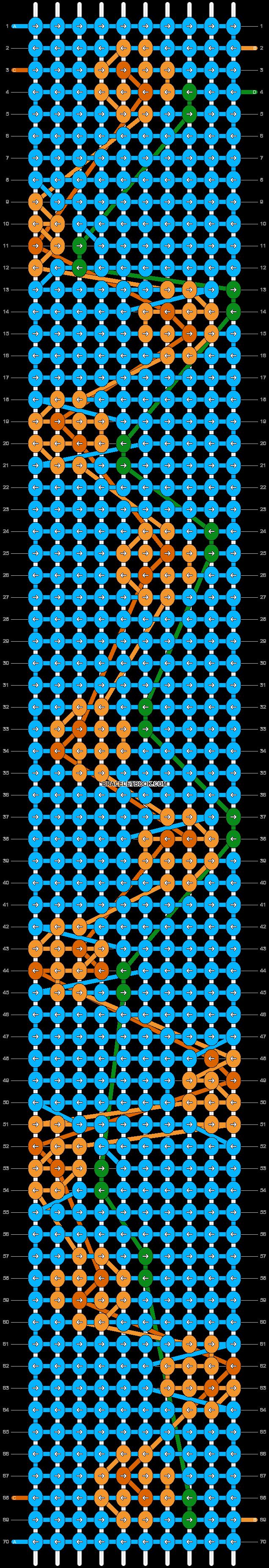Alpha pattern #93901 pattern