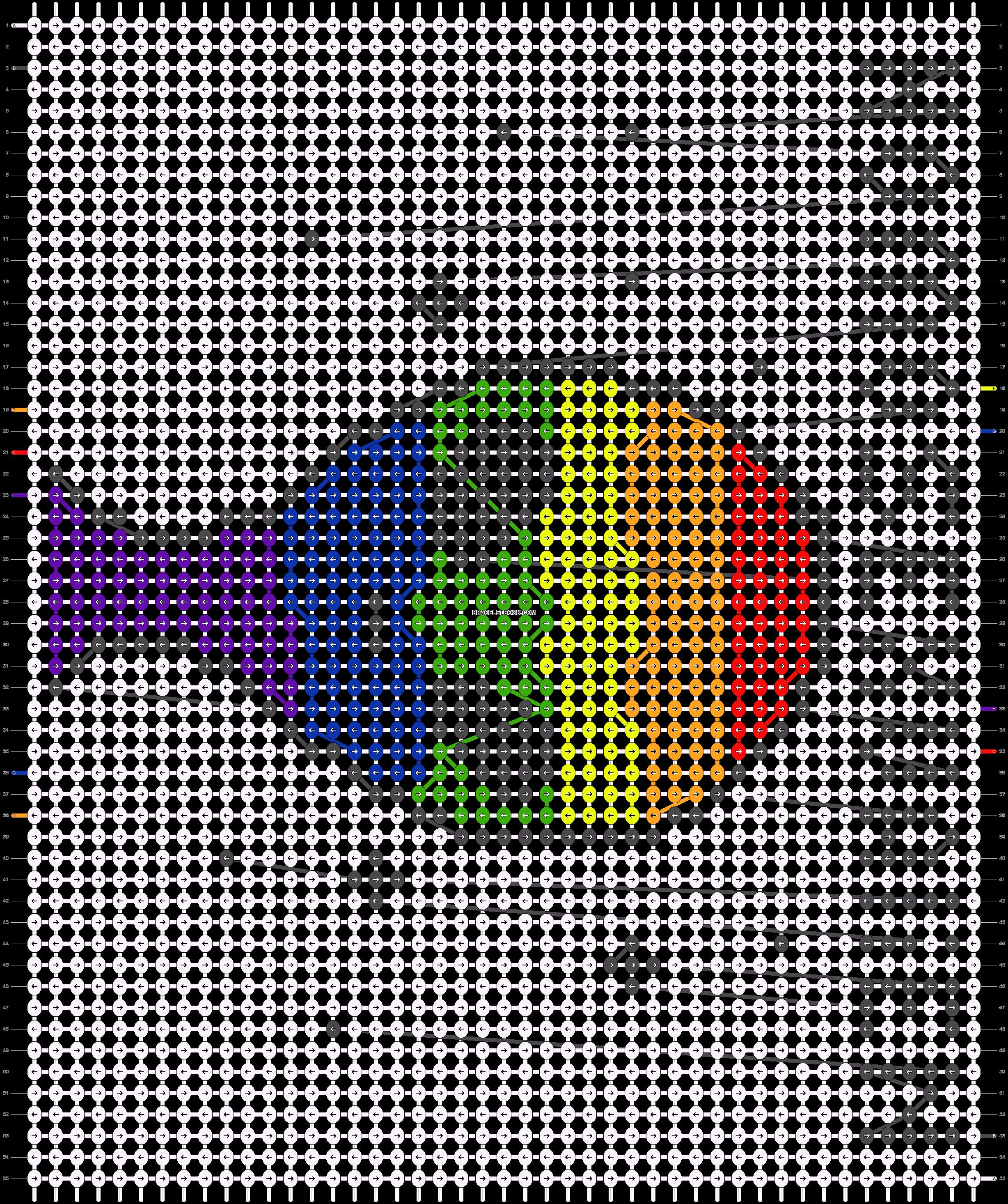 Alpha pattern #93907 pattern