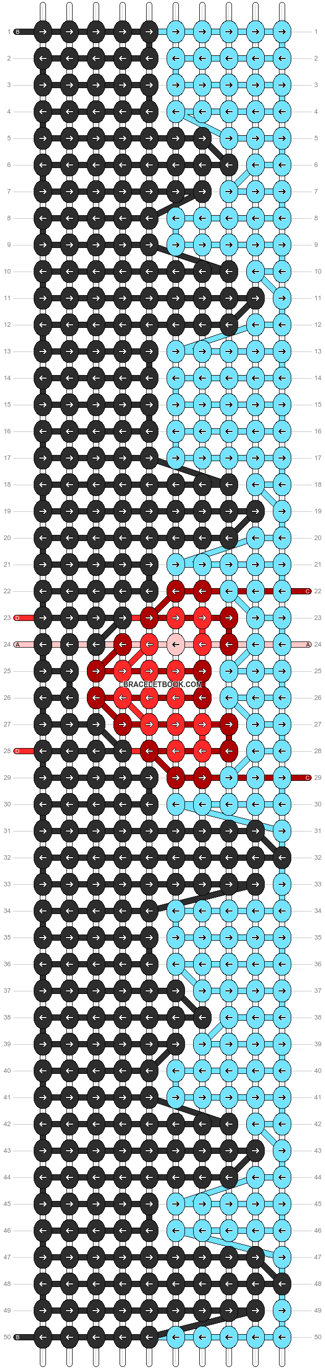 Alpha pattern #93912 pattern