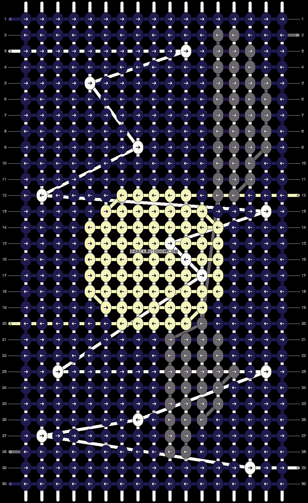 Alpha pattern #93919 pattern