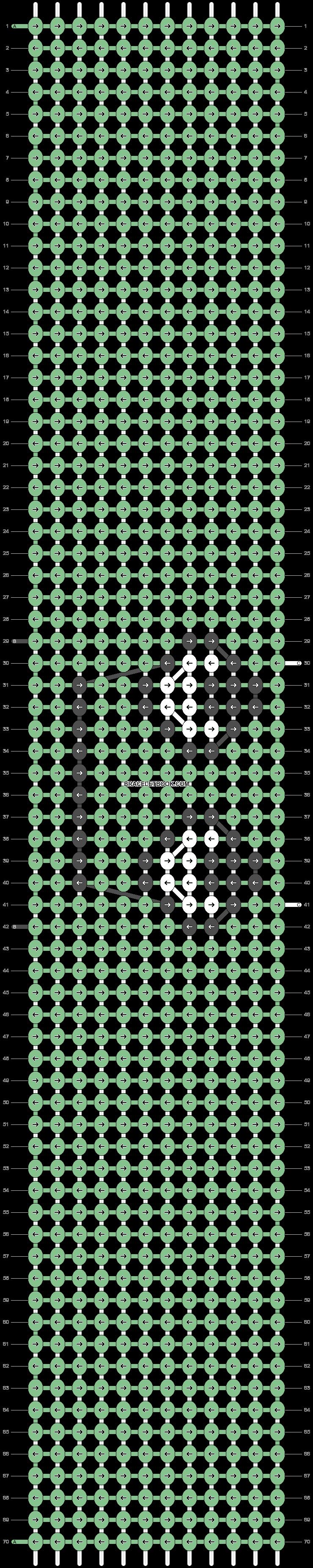 Alpha pattern #93927 pattern
