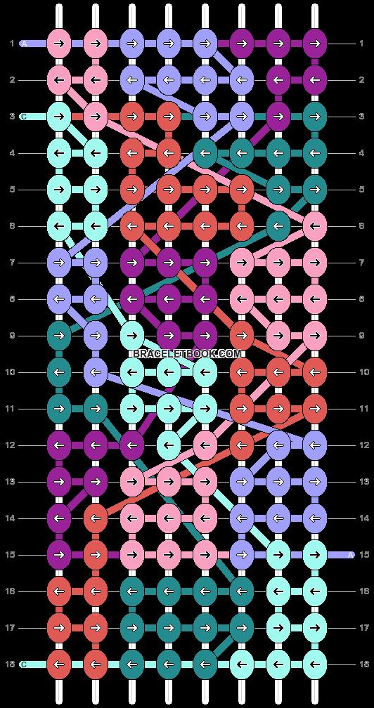 Alpha pattern #93935 pattern