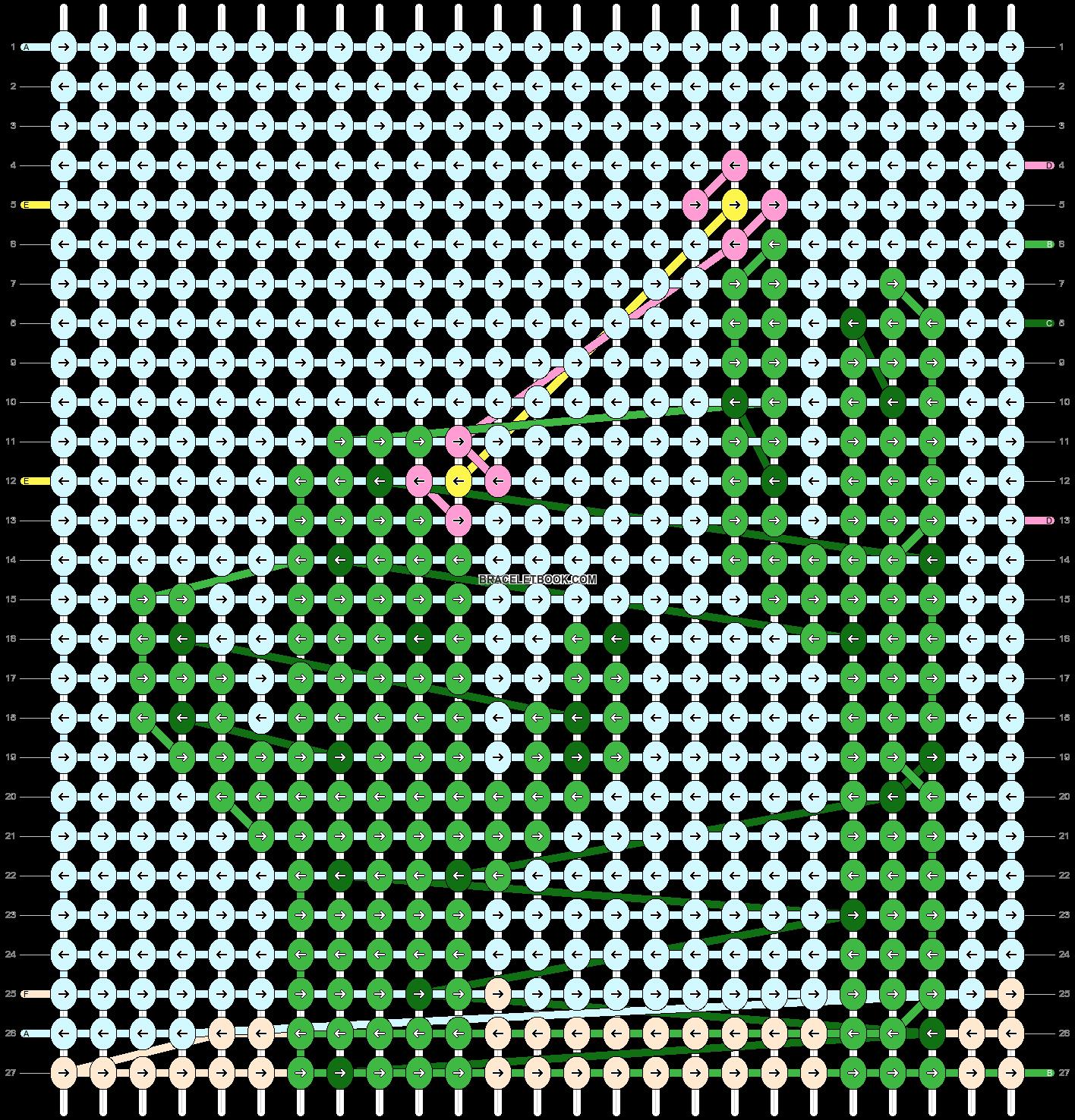 Alpha pattern #94022 pattern