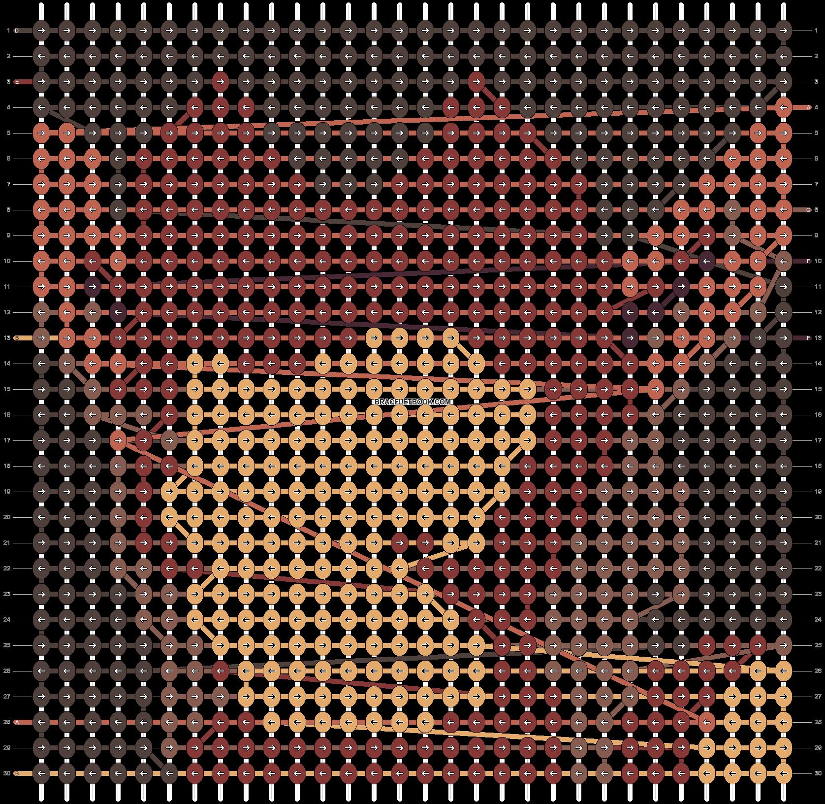 Alpha pattern #94027 pattern