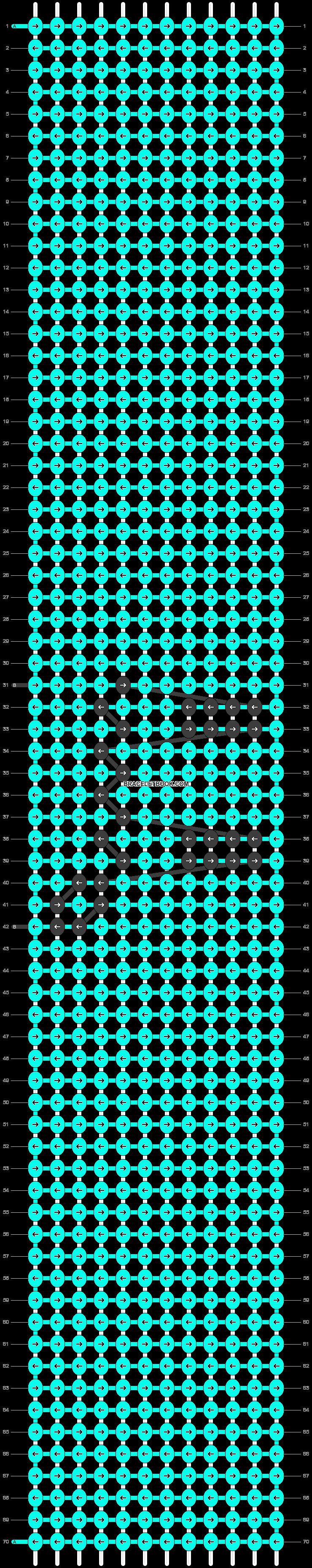 Alpha pattern #94028 pattern
