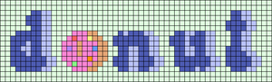 Alpha pattern #94065