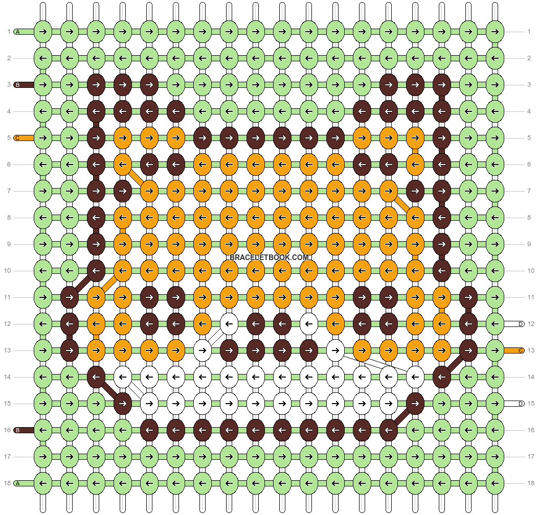 Alpha pattern #94109 pattern