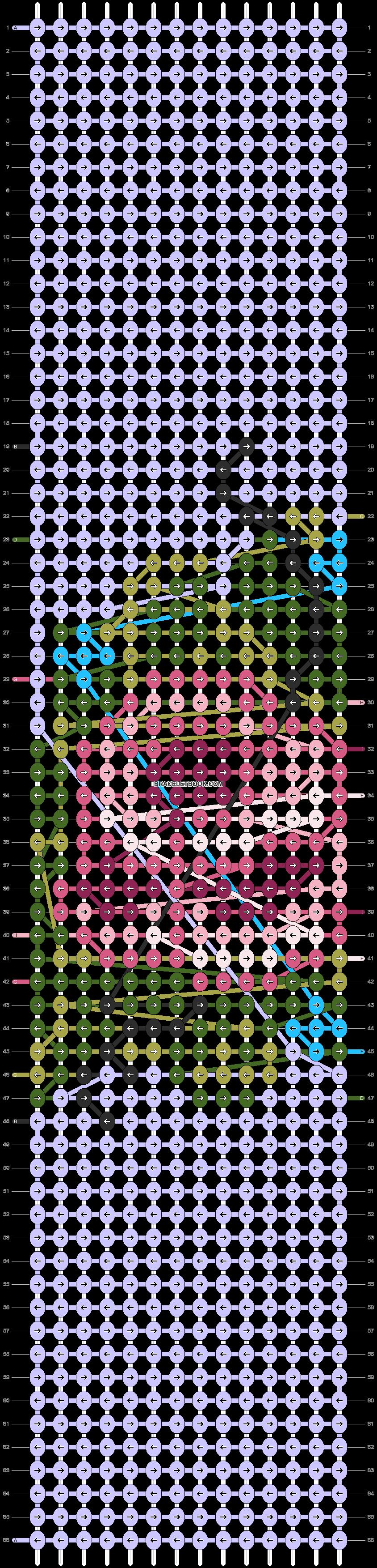 Alpha pattern #94330 pattern