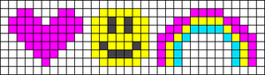 Alpha pattern #94371
