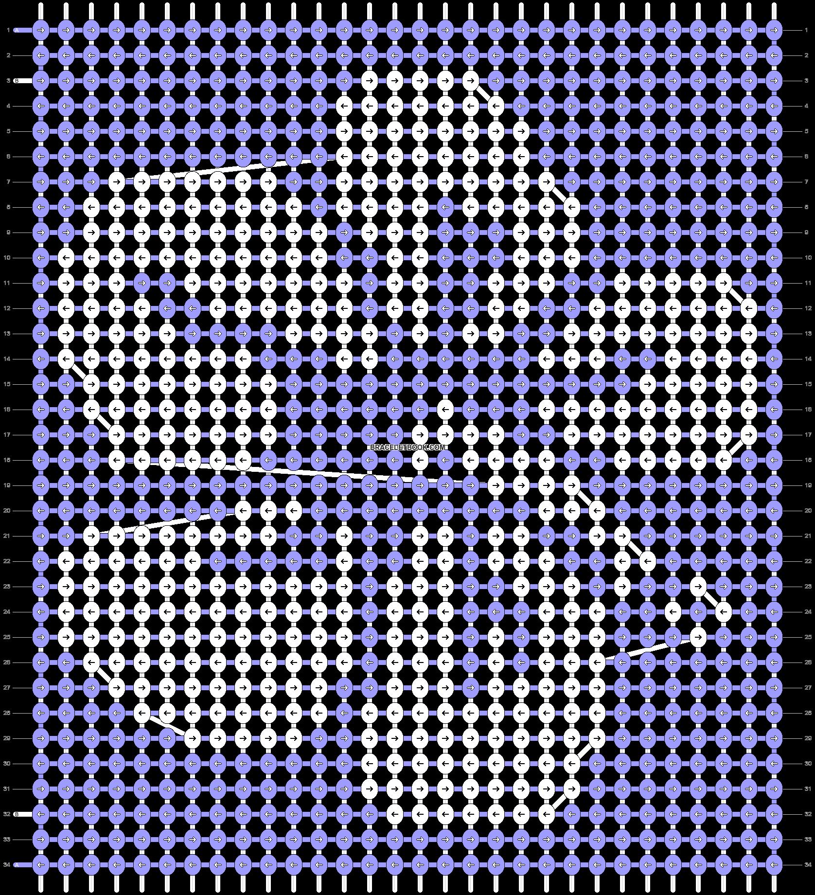 Alpha pattern #94395 pattern
