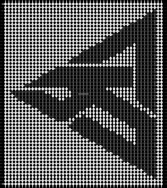 Alpha pattern #94410 pattern