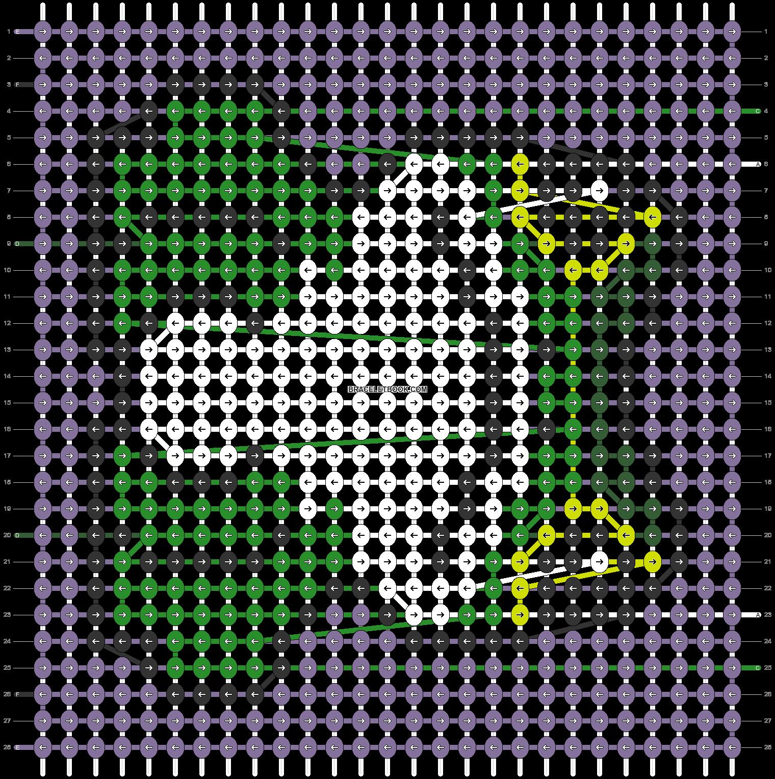 Alpha pattern #94426 pattern
