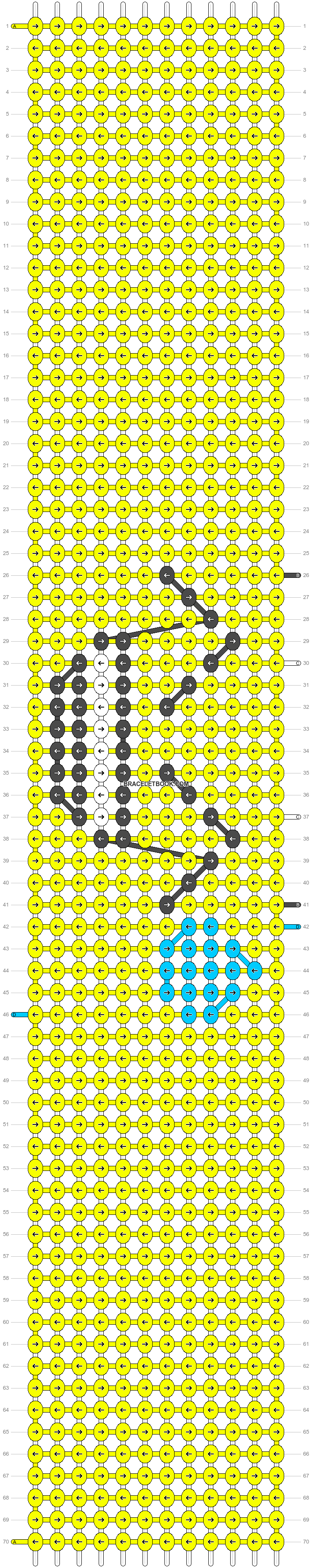 Alpha pattern #94448 pattern
