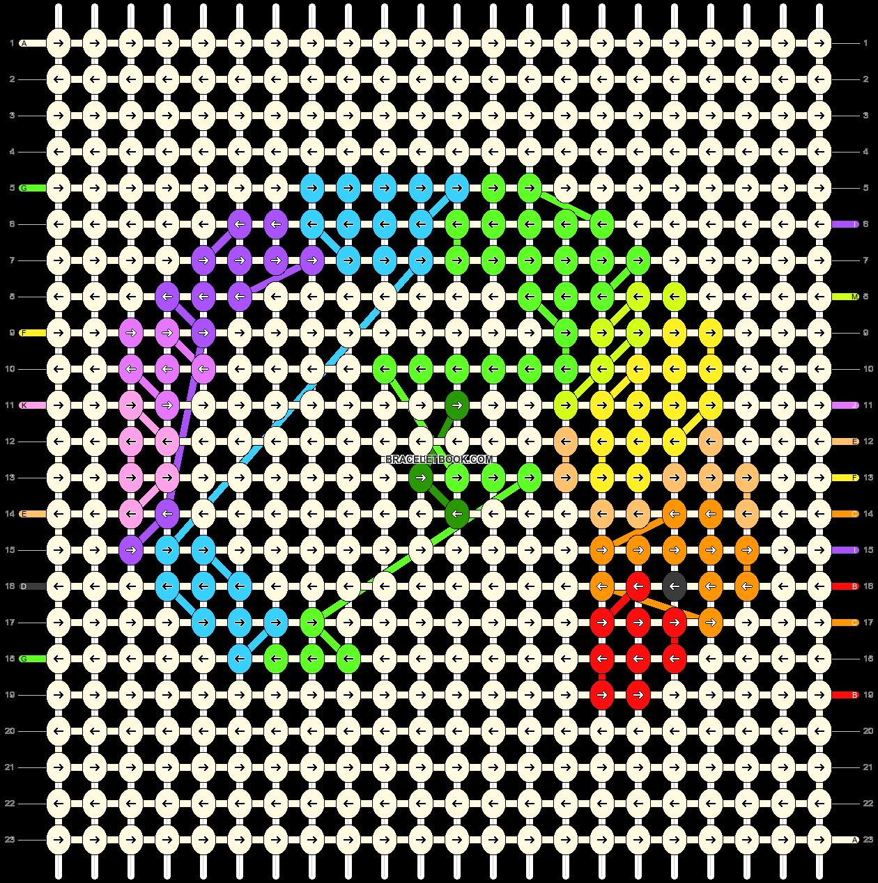 Alpha pattern #94451 pattern