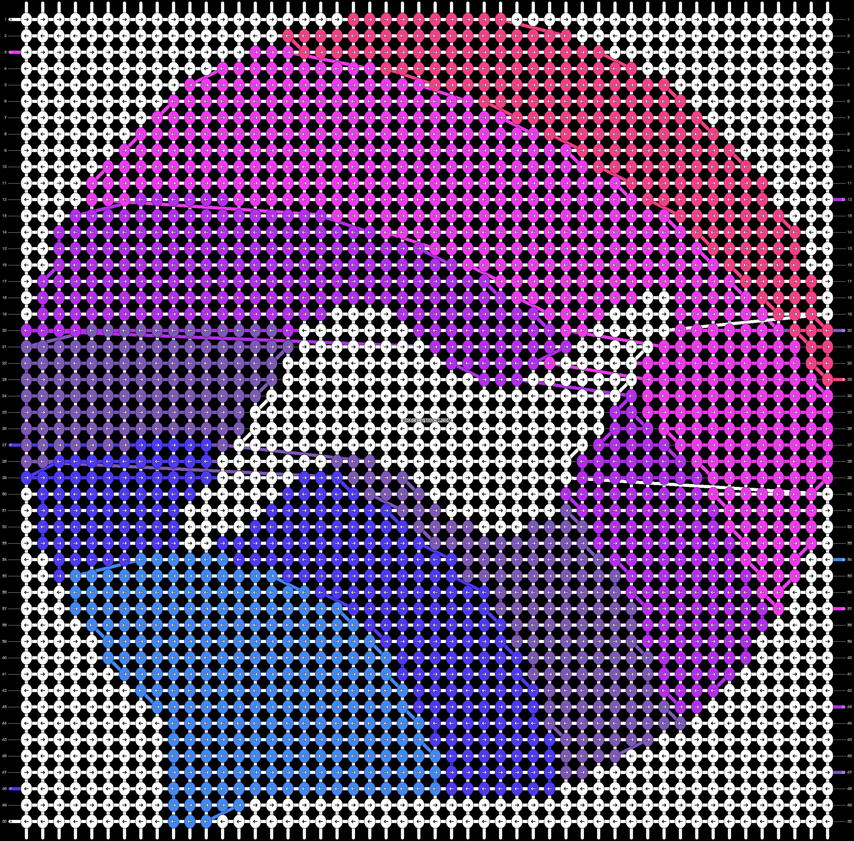 Alpha pattern #94454 pattern