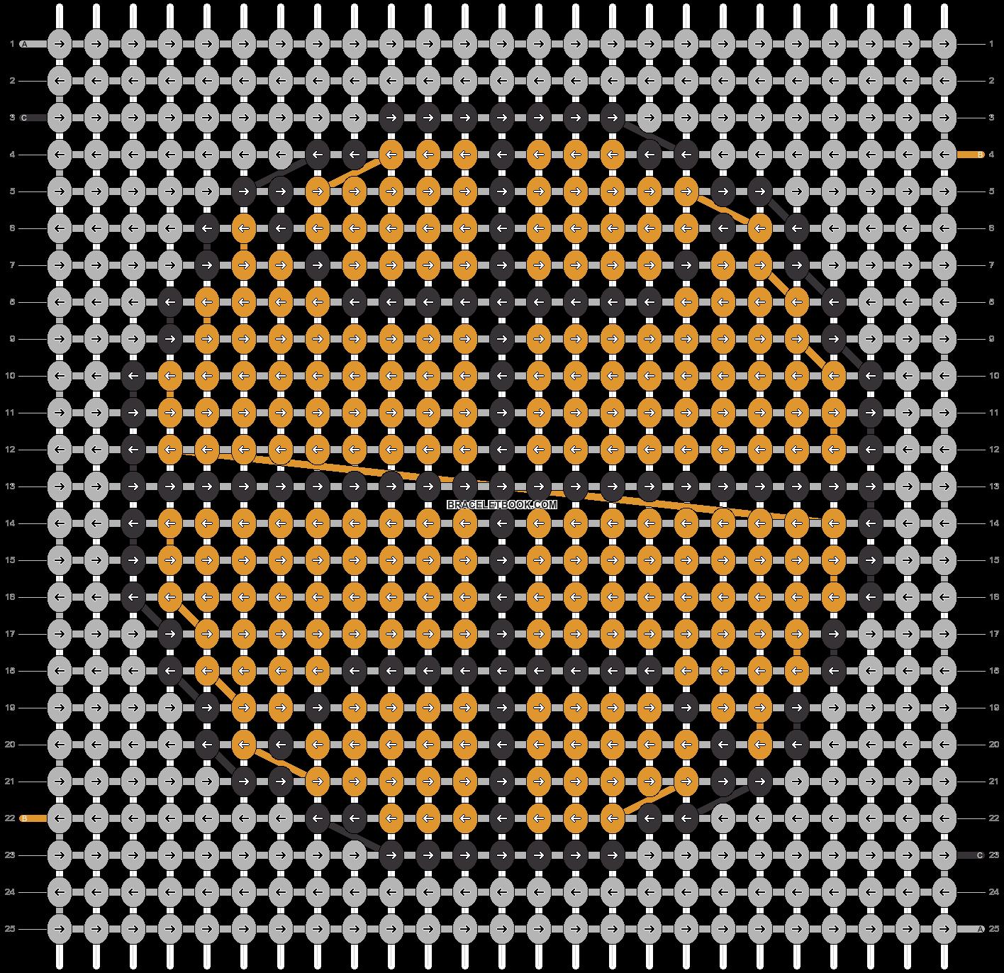 Alpha pattern #94455 pattern